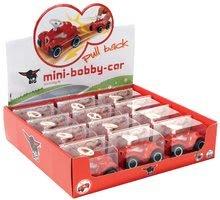 Odrážadlá sety - Set odrážadlo New Bobby BIG s klaksónom tyrkysové a autíčko Mini Bobby na naťahovanie od 12 mes_15