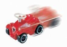 Odrážadlá sety - Set odrážadlo New Bobby BIG s klaksónom tyrkysové a autíčko Mini Bobby na naťahovanie od 12 mes_8
