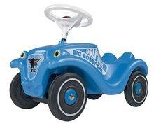 Odrážadlá sety - Set odrážadlo Bobby Classic Polícia BIG s klaksónom modré a naťahovacie autíčko Mini Bobby 12 mesiacov_1