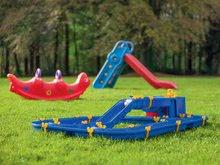 Vodne dráhy pre deti - Vodná hra Waterplay Niagara BIG skladacia s lodičkami modrá_13