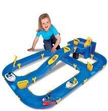 Vodne dráhy pre deti - Vodná hra Waterplay Niagara BIG skladacia s lodičkami modrá_5