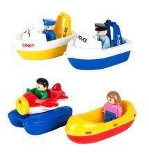 Vodne dráhy pre deti - Vodná hra Waterplay Niagara BIG skladacia s lodičkami modrá_4