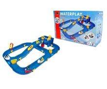 Vodne dráhy pre deti - Vodná hra Waterplay Niagara BIG skladacia s lodičkami modrá_9