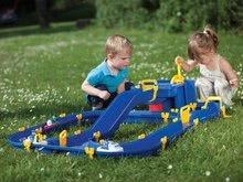 Vodne dráhy pre deti - Vodná hra Waterplay Niagara BIG skladacia s lodičkami modrá_0
