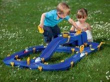 Vodne dráhy pre deti - Vodná hra Waterplay Niagara BIG skladacia s lodičkami modrá_10