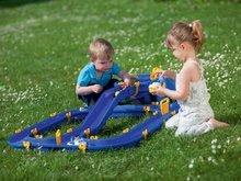 Vodne dráhy pre deti - Vodná hra Waterplay Niagara BIG skladacia s lodičkami modrá_12