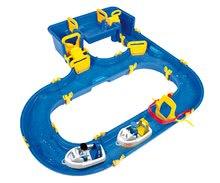 Detská vodná hra Waterplay Hamburg BIG skladacia s lodičkami modrá