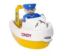 Vodne dráhy pre deti - Vodná hra Waterplay Rotterdam BIG skladacia s lodičkami modrá_3