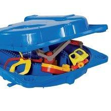 Vodne dráhy pre deti - Vodná hra Waterplay Funland BIG v kufríku modrá_0