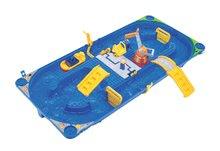 Vodne dráhy pre deti - Vodná hra Waterplay Funland BIG v kufríku modrá_4
