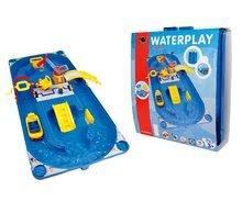 Vodne dráhy pre deti - Vodná hra Waterplay Funland BIG v kufríku modrá_7