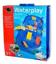 Vodne dráhy pre deti - Vodná hra Waterplay Funland BIG v kufríku modrá_8