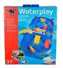 Vodne dráhy pre deti - Vodná hra Waterplay Funland BIG v kufríku modrá_9