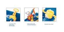 Domčeky s vodnou dráhou - Set domček Priateľov Smoby s kuchynkou a zvončekom a vodná hra Waterplay Amsterdam_7