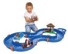 Vodne dráhy pre deti - Vodná hra Waterplay Vikingovia Grónsko BIG skladacia s figúrkami modrá_0