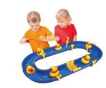 Vodne dráhy pre deti - Vodná hra Waterplay BIG skladacia s kačičkami modrá_0