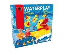 Vodne dráhy pre deti - Vodná hra Waterplay BIG skladacia s kačičkami modrá_7