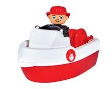 Príslušenstvo k vodným dráham - Súprava 2 lodiek Waterplay BIG hasičské dĺžka 15,5 cm červené_1