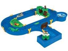 Vodná hra pre deti Waterplay Jungle Adventure BIG skladacia s 5 figúrkami - 32 dielov