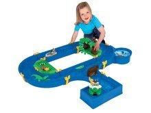 Vodne dráhy pre deti - Vodná hra Waterplay Jungle Adventure BIG skladacia s 5 figúrkami - 32 dielov_1