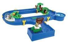 Vodne dráhy pre deti - Vodná hra Waterplay Jungle Adventure BIG skladacia s 5 figúrkami - 32 dielov_2