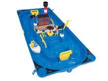 Vodne dráhy pre deti - Vodná hra Waterplay Sansibar BIG v kufríku s 3 figúrkami - 37 dielov_1