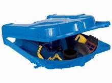 Vodne dráhy pre deti - Vodná hra Waterplay Sansibar BIG v kufríku s 3 figúrkami - 37 dielov_2