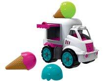 Sladoledarsko vozilo BIG Power Worker s sladoledom - gumirana kolesa od 24 mes