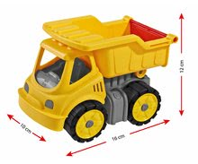 Nákladné autá - Nákladné auto Power BIG pracovný stroj dĺžka 16 cm žltý od 24 mes_1