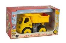 Nákladné autá - Nákladné auto Power BIG pracovný stroj dĺžka 16 cm žltý od 24 mes_3