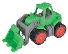 Tractor Power BIG cu lungime de 23 cm verde de la 24 luni