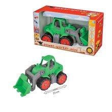 Poľnohospodárske stroje - Traktor Power BIG dĺžka 23 cm zelený od 24 mes_2