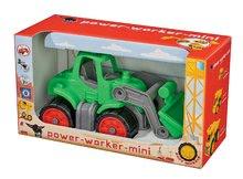 Poľnohospodárske stroje - Traktor Power BIG dĺžka 23 cm zelený od 24 mes_3