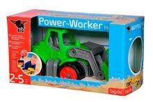 Poľnohospodárske stroje - Traktor Power BIG dĺžka 23 cm zelený od 24 mes_10
