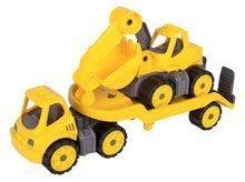 Detské autá transportér a bager Power BIG pracovné dĺžka 41 cm od 2 rokov