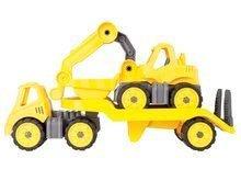 Stavebné stroje - Autá transportér a bager Power BIG pracovné dĺžka 41 cm od 24 mes_0