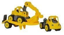 Stavebné stroje - Autá transportér a bager Power BIG pracovné dĺžka 41 cm od 24 mes_1