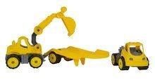 Stavebné stroje - Autá transportér a bager Power BIG pracovné dĺžka 41 cm od 24 mes_4