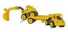 Stavebné stroje - Autá transportér a bager Power BIG pracovné dĺžka 41 cm od 24 mes_5