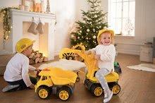 Odrážedla od 18 měsíců - Bagr Max Power BIG se sedadlem délka 73 cm žlutý_18