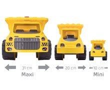 Nákladné autá - Nákladné auto Maxi Power BIG dĺžka 46 cm žlté od 24 mes_12