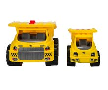 Nákladné autá - Nákladné auto Maxi Power BIG dĺžka 46 cm žlté od 24 mes_4