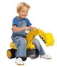 Bagr pro děti Max Power BIG se sedadlem délka 73 cm žlutý