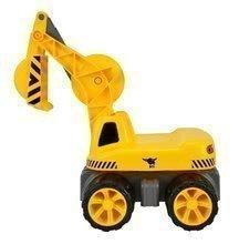 Odrážedla od 18 měsíců - Bagr Max Power BIG se sedadlem délka 73 cm žlutý_0