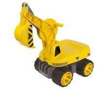 Odrážedla od 18 měsíců - Bagr Max Power BIG se sedadlem délka 73 cm žlutý_1