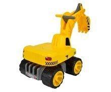 Odrážedla od 18 měsíců - Bagr Max Power BIG se sedadlem délka 73 cm žlutý_2