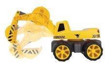 Odrážedla od 18 měsíců - Bagr Max Power BIG se sedadlem délka 73 cm žlutý_4