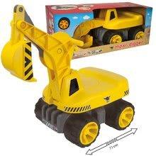 Odrážedla od 18 měsíců - Bagr Max Power BIG se sedadlem délka 73 cm žlutý_8