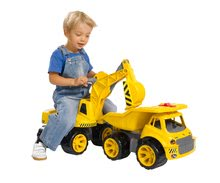 Odrážedla od 18 měsíců - Bagr Max Power BIG se sedadlem délka 73 cm žlutý_13