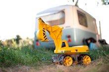 Odrážedla od 18 měsíců - Bagr Max Power BIG se sedadlem délka 73 cm žlutý_11